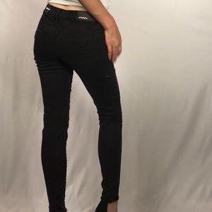Dollhouse Jeans - Dollhouse Black Distressed Jeans